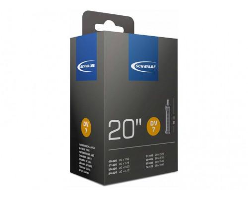 Камера 20″ данлоп ниппель 05-10415611 DV7 (40/62-406) IB 40mm SCHWALBE