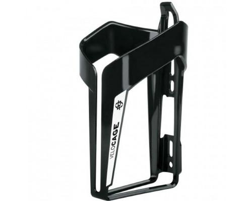 Флягодержатель 0-11480 VELOCAGE SKS-11480 черно-белый пластик