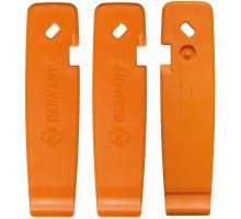 Монтировки 0-11586 пластиковые SKS-11586 с крючками эргономичные (комплект 3шт) оранжевые SKS Германия