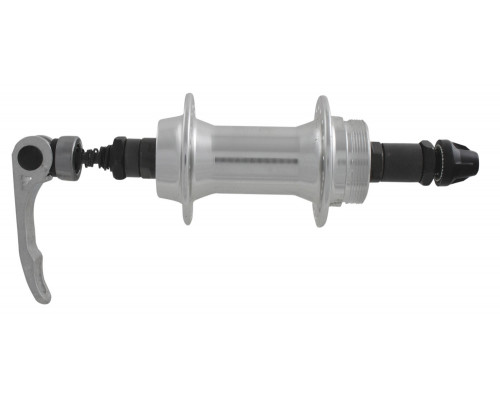 Втулка 00-170024 алюминиевая задняя 32 отверстия для трещетки с эксцентриком 135мм черная
