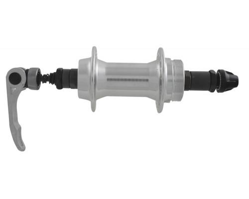 Втулка 00-170025 алюминиевая задняя 36 отверстий для трещетки с эксцентриком 135мм серебристая