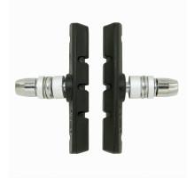 Тормозные колодки 00-170111 с крепежом симметричные 70мм черные