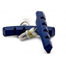 Тормозные колодки 00-170113 с крепежом симметричные 70мм синие