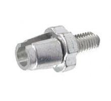 Тормозной натяжитель 00-170260 тросика тормозов V-Brake М7x15mm серебристый