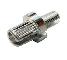 Тормозной натяжитель 00-170261 тросика тормозов V-Brake М10x17mm серебристый