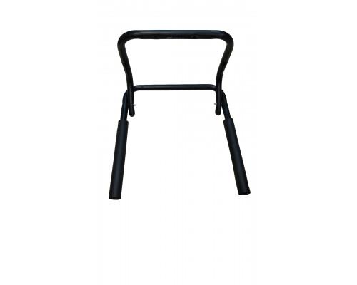 Держатель вело 00-170302 настенный ″горизонтальный″ до 20кг сталь, широкий, складной, черный H040 HORST