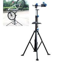 Стенд 00-170311 ремонтный вело до 30кг, профи алюминиевый, складной регулируемый с лотком и дополнительным креплением HORST