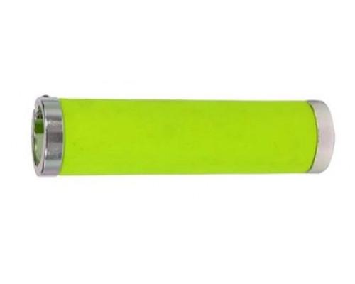Ручки 00-170477 на руль H231 TwoSideLock 130мм резинов.2 серебристый фиксаторы противоскользящая поверхность неоновые