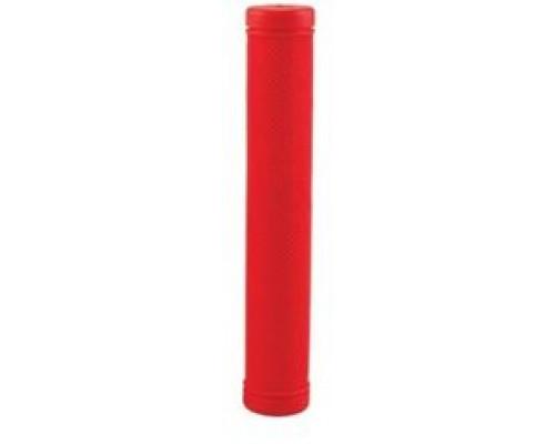 Ручки 00-170496 на руль H95 резиновые, противоскользящие удлиненные178мм для BMX и дорожные велосипеды красные