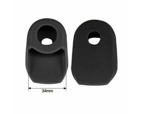 Защита шатуна 00-170510 (пара) от механических повреждений, универсальная, резина, черная