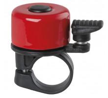 Звонок 00-170715 алюминий/пластик мини D=35мм красный