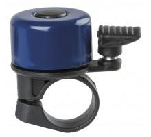 Звонок 00-170716 алюминий/пластик мини D=35мм синий