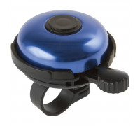 Звонок 00-170722 сталь/пластик D=45мм черно-синий