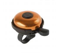 Звонок 00-170723 сталь/пластик D=53мм черно-золотистый