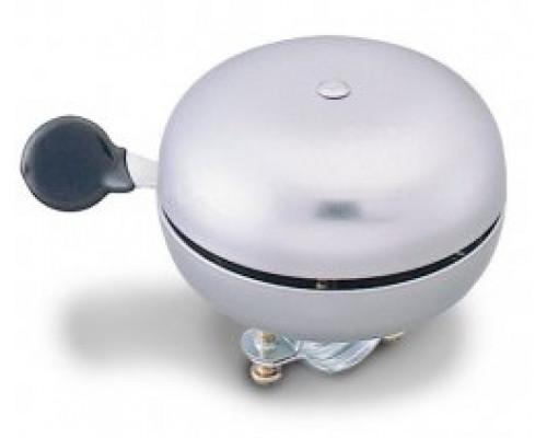 Звонок 00-170727 сталь увеличенный D=60мм громкий звук, серебристый