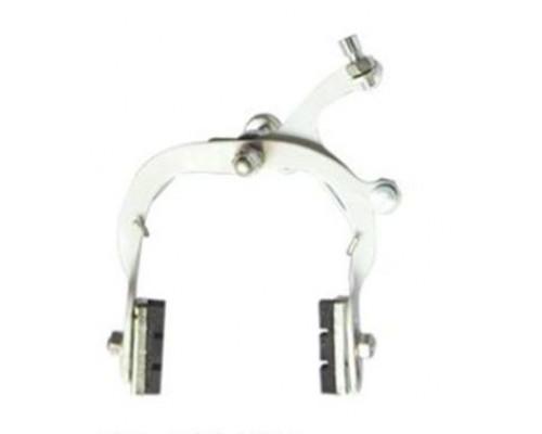 Тормоза 00-171209 для детских вело/беговелов передний+задний стальные серебристые
