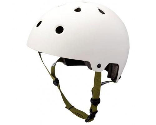 Шлем 02-19150207 BMX/FREESTYLE MAHA White 10 отверстий, размер L 58-61см, белый KALI