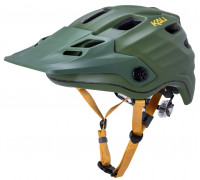 Шлем 02-20420117 ENDURO/MTB MAYA2.0 Mat Khk/Ylw 12 отверстий, размер L/XL 60-63см. зеленый/хаки, LDL, CF+. KALI
