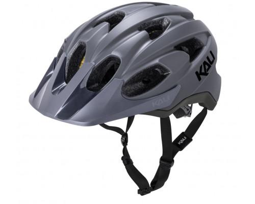 Шлем 02-21720127 TRAIL/MTB PACE 15 отверстий, Mat Gry размер L/XL 58-62 серый матовый. LDL, CF, KALI
