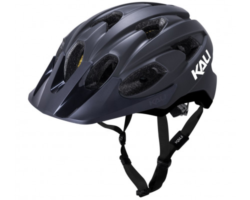 Шлем 02-21720157 TRAIL/MTB PACE 15 отверстий, Mat Blk размер L/XL 58-62 черный матовый. LDL, CF, KALI