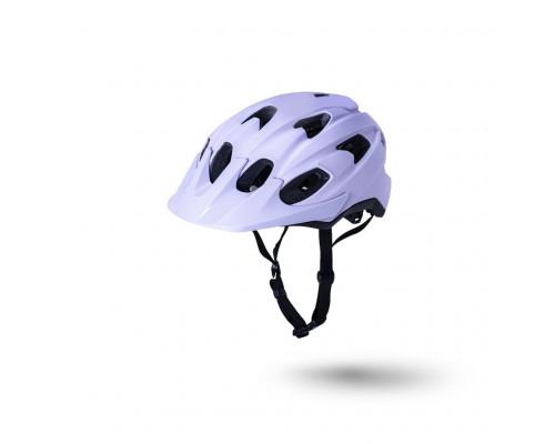 Шлем 02-21721126 TRAIL/MTB PACE 15 отверстий, матовый/ сиреневый/черный S/M 54-58 LDL, CF, KALI