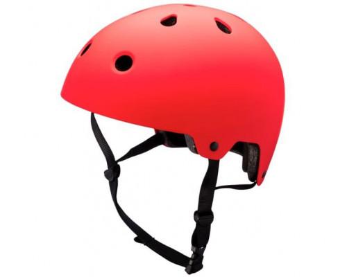 Шлем 02-30218115 BMX/FREESTYLE MAHA Red 10 отверстий, размер S 48-54см, красный KALI