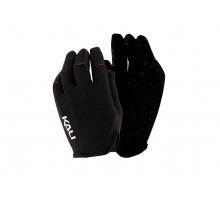 Перчатки 02-430221117 Cascade легкие, Trail, AM, Enduro, Slip-ON бесшовный крой, 4D стрейч, длинные пальцы, совместимы с тачскрином, черные размер L KALI