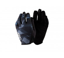 Перчатки 02-430221226 Cascade легкие, Trail, AM, Enduro, Slip-ON бесшовный крой, 4D стрейч, длинные пальцы, совместимы с тачскр, синий камуфляж размер M KALI