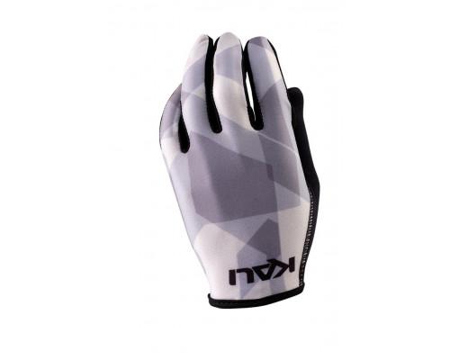 Перчатки 02-430321234 Mission ультралегкие, Slip-ON бесшовный крой, 4D стрейч, длинные пальцы, совместимы с тачскрином, серый камуфляж XS KALI