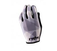 Перчатки 02-430321235 Mission ультралегкие, Slip-ON бесшовный крой, 4D стрейч, длинные пальцы, совместимы с тачскрином, серый камуфляж размер S KALI