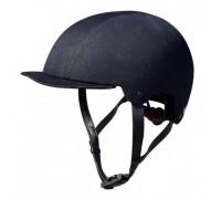 Шлем 02-50120117 URBAN/BMX SAHA LUXE 11 отверстий, размер L/XL 58-61см, обтянут джинс. тканью 462г. BIO. KALI