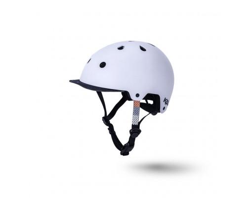 Шлем 02-50121216 URBAN/BMX Saha Cozy 11 отверстий, матовый/ серый/черный S/M(54-58см) KALI