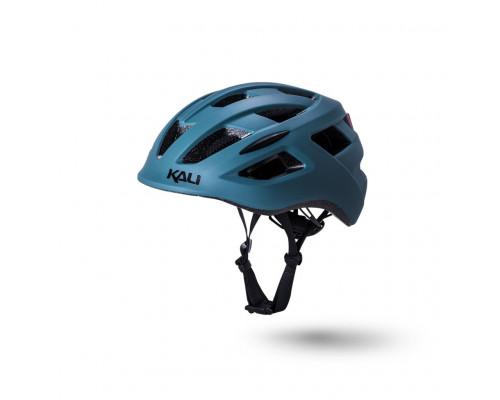 Шлем 02-50521116 URBAN/CITY/MTB с фонариком CENTRAL 19 отверстий, матовый/ хаки S/M(52-58см) KALI