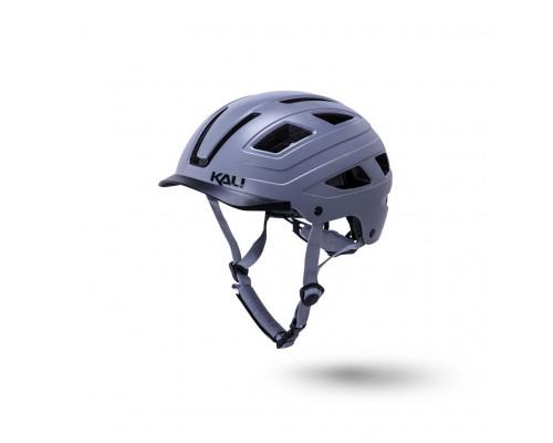 Шлем 02-50721137 URBAN/CITY/MTB с фонариком CRUZ серый L/XL(58-62см) KALI