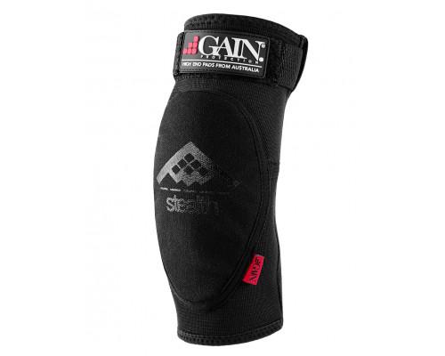 Защита 03-000022 локтя,STEALTH Elbow Pads, черная, размер размер S GAIN