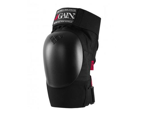 Защита 03-000220 на колени, THE SHIELD hard shell knee pads, черная, размер размер S GAIN