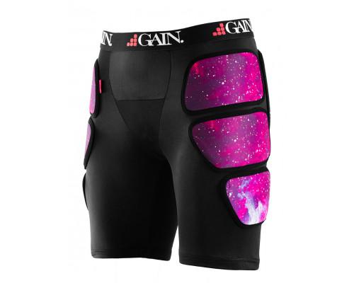 Защита 03-000404 шорты, THE SLEEPER Hip/Bum Protectors., размер L, цвет черно/фиолетовый GAIN