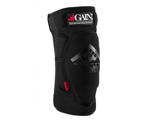 Защита 03-000534 на колени, детская, STEALTH Knee Pads, черная, размер XXS GAIN