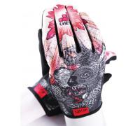 Перчатки 03-000862 с длинными пальцами КЕВЛАР elastic kevlar DROPBEAR RESISTANCE для BMX и других экстримальнх видов размер.L оригинальный дизайн GAIN