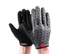 Перчатки 03-000947 с длинными пальцами КЕВЛАР elastic kevlar GREY RESISTANCE для BMX и других экстримальнх видов размер.XXL серые GAIN