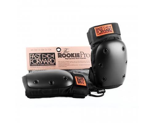 Защита 03-100671 на колени FAST FORWARD ROOKIE PRO S(26-32см) черная GAIN