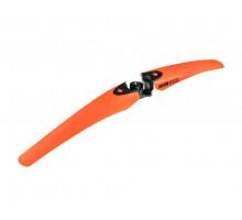 Крыло 04-000284 пластик 24-26″ переднее б/съемное OREGON оранжевое LASALLE