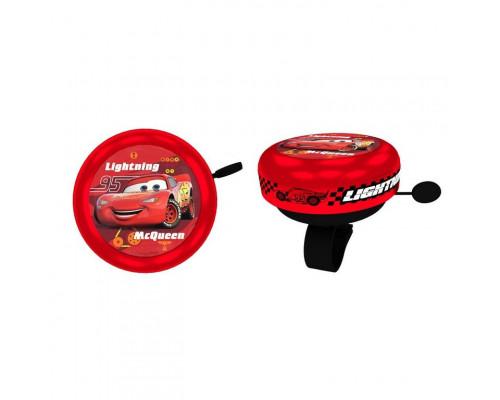Звонок 04-001571 алюминиевый /пластик D=55мм красный L.McQueen CARS CAMPANELLI