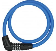 Замок 05-0016569 вело трос 12мм, кодовый 4-х разрядный, Numerino 5412C/85см класс защиты 3/15, 300гр, голубой ABUS