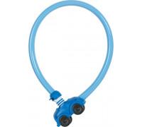 Замок 05-0043302 вело трос 4мм, ключ, ″Машинка″ My first ABUS 1505/55см, 200гр, голубой ABUS
