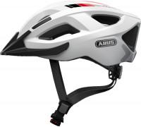Шлем 05-0072550 Aduro 2.0 с LED фонариком и светоотражающие элементы M(52-58см) с регулировкой, 295гр, 14 отверстий, сетка от насекомых, белый ABUS