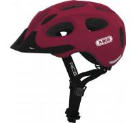 Шлем 05-0072616 Youn-I-Ace с LED фонариком, M(52-57см) с регулировкой, 270гр, 17 отверстий, сетка от насекомых, вишневый ABUS