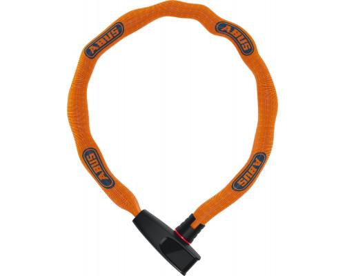 Замок 05-0082515 вело цепь 6мм, ключ, Catena 6806K/75см класс защиты 6/15, 850гр, ярко-оранжевый ABUS