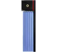 Замок 05-0084426 вело складной, ключ, Bordo uGrip 5700/80см с кронштейном класс защиты 7/15, 830гр, голубой ABUS