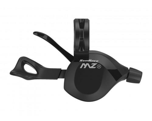 Переключатель скоростей/манетка DLMZ33N.RW00.0S0.BX 06-201301 MZ33N 12 скоростей, правый, трос 2100мм, , черный SUNRACE